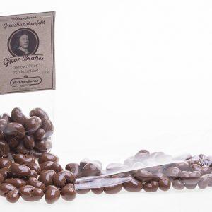 Grevens cashewnöt i mjölkchoklad 150g