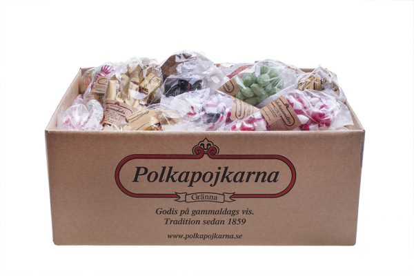 50 st Blandade Fyllda Strutar Tjäna upp till 3.000 kr - Sälj 250 strutar med karameller & kolor 18 st blandade strutar, skämmigt billigt!