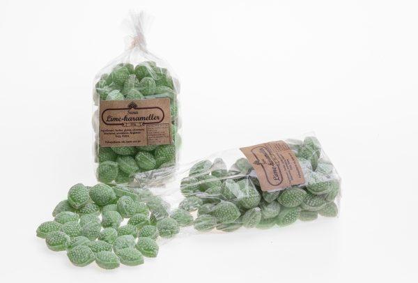 Sura Lime-karameller 200g