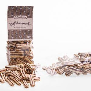 Kaffekarameller med chokladfyllning 250g