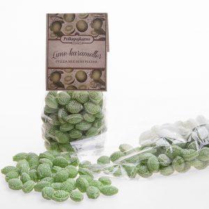 Sura Lime-karameller 250g